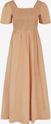 Pieces Maternity Summer Dress 'Taliah' in Brown