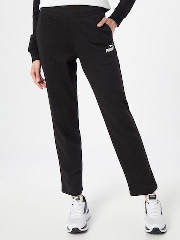 PUMA Sportnadrágok - fekete