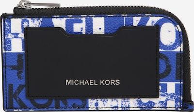 Michael Kors Porte-monnaies 'BILLFOLD' en bleu / noir / blanc, Vue avec produit