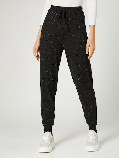 Guido Maria Kretschmer Collection Pants 'Jenny' in Black, View model