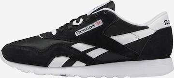 Reebok Sport Sneaker 'CL NYLON' in Schwarz