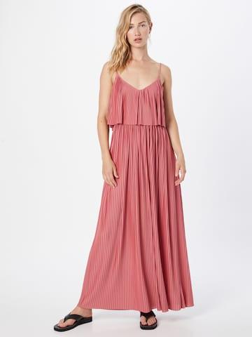 Rochie de vară 'Nadia' de la ABOUT YOU pe roșu