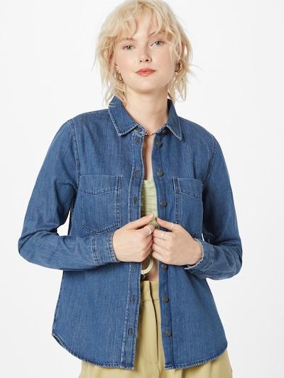 Bluză 'Damla' Noisy may pe albastru denim, Vizualizare model