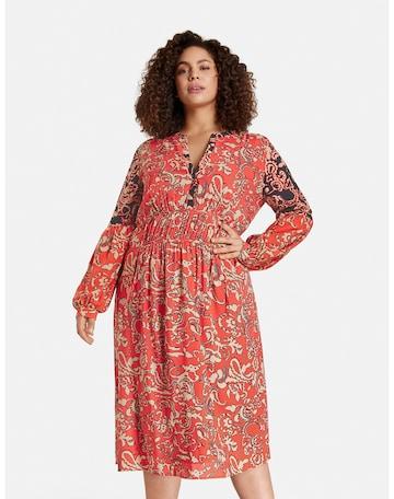 SAMOON Kleid in Rot