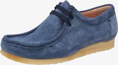 SIOUX Mocassins ' Tils Grashop.-D 001 ' in de kleur Blauw, Productweergave