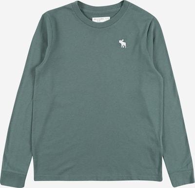 Abercrombie & Fitch Shirt in smaragd / weiß, Produktansicht