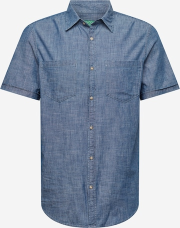 Camicia di UNITED COLORS OF BENETTON in blu