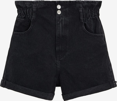 MANGO Shorts in black denim: Frontalansicht