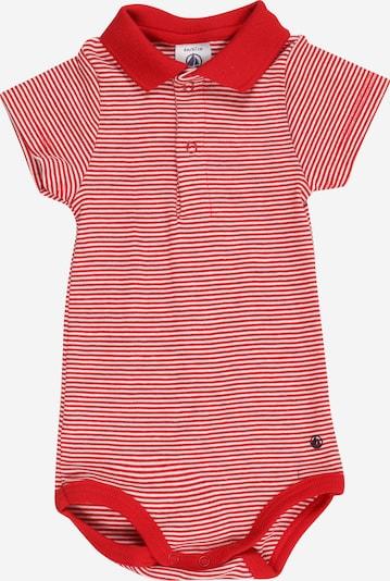 PETIT BATEAU Body in rot / weiß, Produktansicht