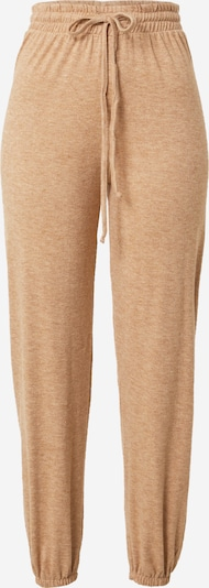 WAL G. Pantalon 'Libby' en marron chiné, Vue avec produit