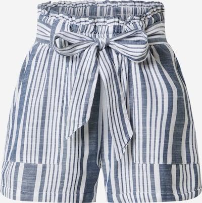 ONLY Pantalon 'LAVANA' en bleu foncé / blanc, Vue avec produit