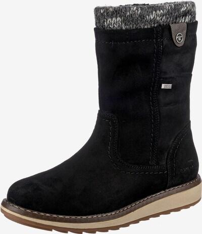 TOM TAILOR Stiefel in grau / schwarz, Produktansicht