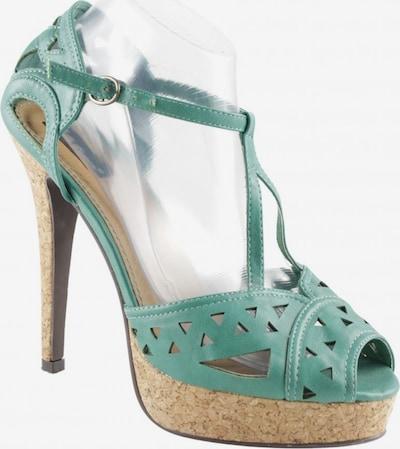 Belle Women Sandals & High-Heeled Sandals in 40 in Green, Item view