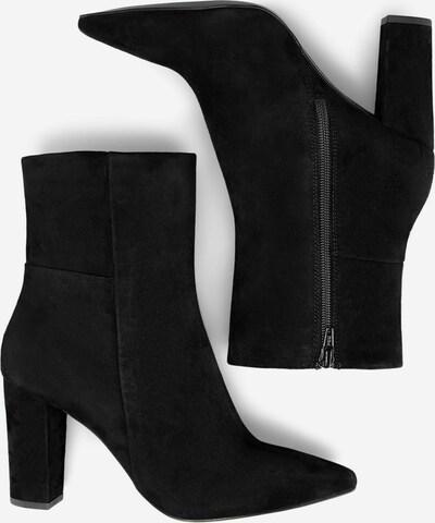 COX Veloursleder-Stiefelette in schwarz, Produktansicht