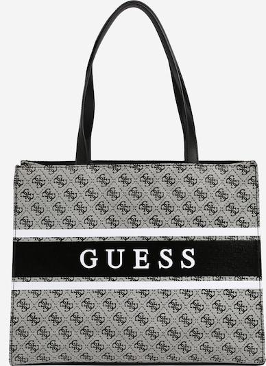 GUESS Shopper 'Monique' en gris / negro / blanco, Vista del producto