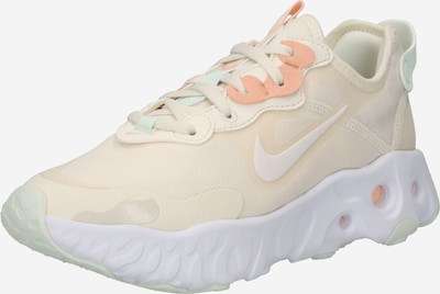 Sneaker low 'React Art3mis' Nike Sportswear pe crem / corai / alb, Vizualizare produs