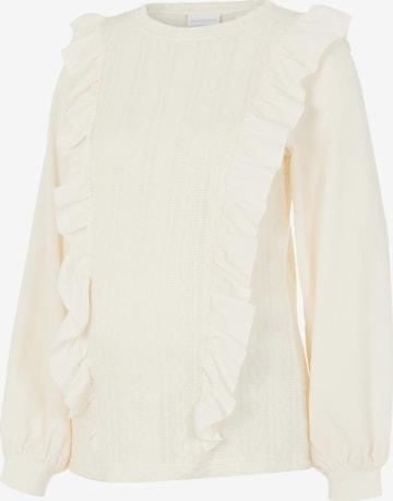 Camicia da donna 'Cecilia' di MAMALICIOUS in bianco