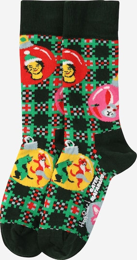 Happy Socks Socks 'Holiday Spirit' in dark green / mixed colours, Item view