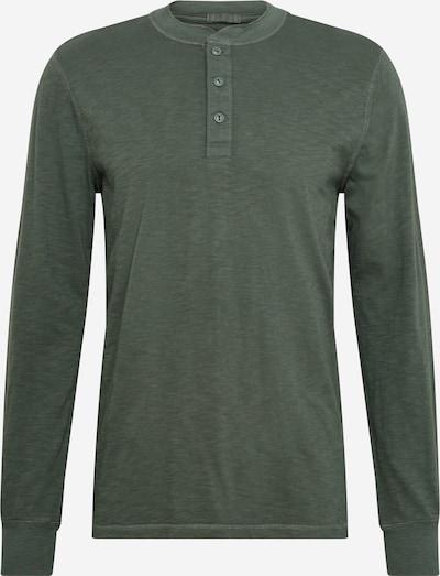 GAP Tričko - béžová melírovaná / tmavozelená, Produkt