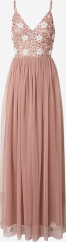 LACE & BEADS Evening dress 'Avon' in Pink