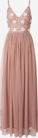 LACE & BEADS Evening Dress 'Avon' in Rose / White, Item view