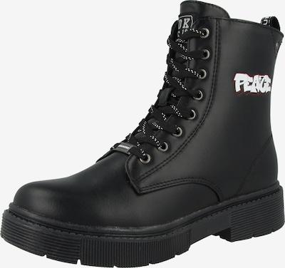 Dockers by Gerli Lage schoen in de kleur Zwart / Wit, Productweergave