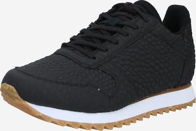 WODEN Sneakers laag 'Ydun Croco II' in de kleur Zwart, Productweergave