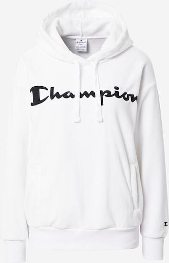 Champion Authentic Athletic Apparel Sweat-shirt en noir / blanc cassé, Vue avec produit