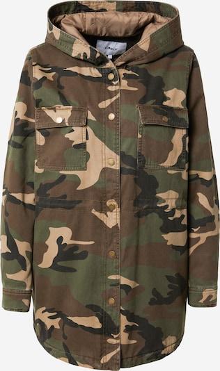 ONLY Jacke 'IDA' in beige / braun / grün / schwarz, Produktansicht