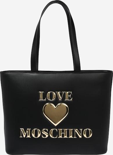 Love Moschino Torba za na rame u zlatna / crna: Prednji pogled
