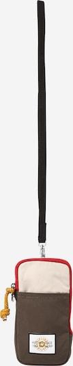 KIPLING Калъф за смартфон 'CLARK' в кремаво / мока / огнено червено / черно, Преглед на продукта