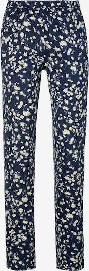 s.Oliver Spodnji del pižame | mornarska / rumena / bela barva, Prikaz izdelka