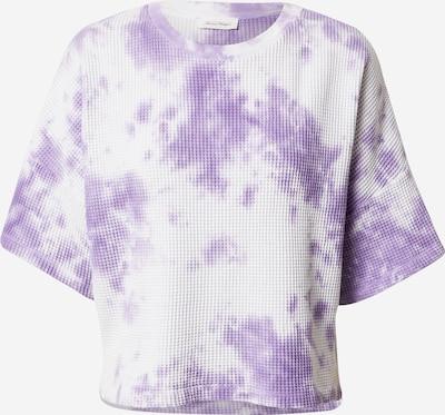 AMERICAN VINTAGE T-shirt 'Bowilove' en violet clair / blanc, Vue avec produit