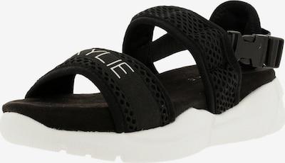 Kendall & Kylie Sandale 'NOARI' in schwarz / weiß, Produktansicht
