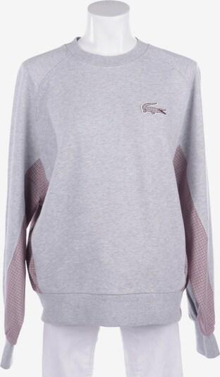 LACOSTE Sweatshirt / Sweatjacke in M in hellgrau, Produktansicht