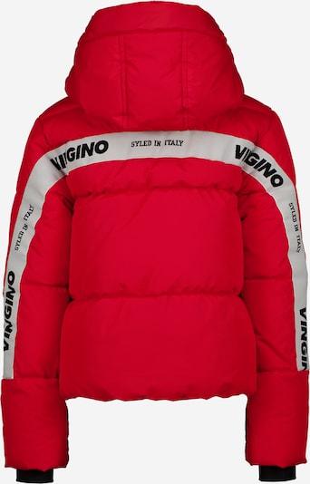 VINGINO Jacke 'TRISTA' in cranberry / schwarz / weiß, Produktansicht