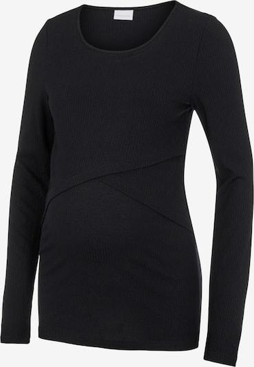 MAMALICIOUS T-shirt 'Carma' en noir, Vue avec produit