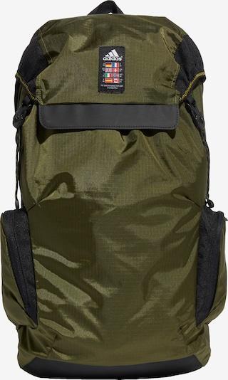 ADIDAS PERFORMANCE Rucksack 'Explorer' in khaki / schwarz / weiß, Produktansicht