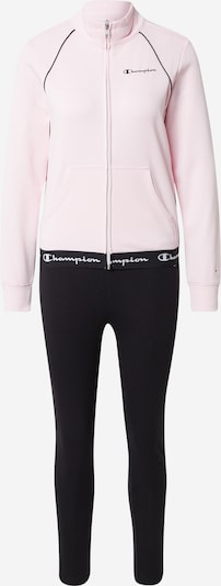 Champion Authentic Athletic Apparel Survêtement en rose / noir, Vue avec produit