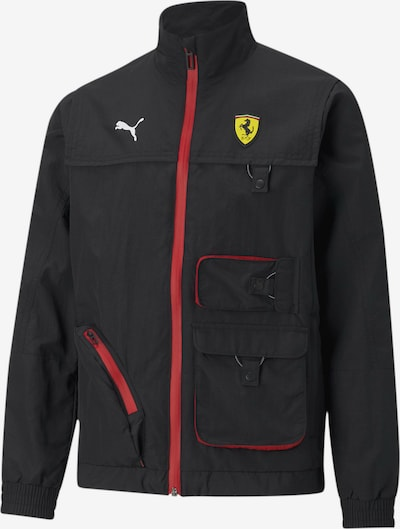 PUMA Sportjas 'Scuderia Ferrari' in de kleur Rood / Zwart, Productweergave