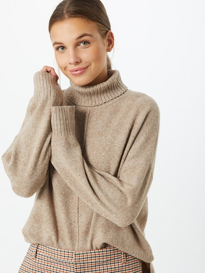 Noisy may Pullover in beigemeliert, Modelansicht