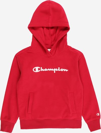 Champion Authentic Athletic Apparel Sweater majica u crvena / bijela, Pregled proizvoda