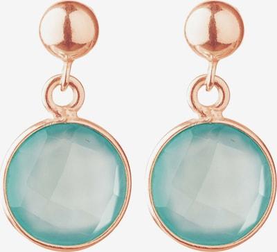 Gemshine Ohrringe in gold / jade, Produktansicht