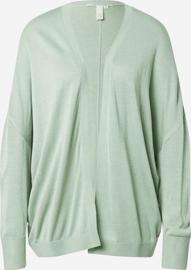 Q/S designed by Cardigan en vert clair, Vue avec produit
