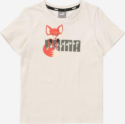 PUMA Shirt 'Animals' in grau / hellgrau / dunkelorange, Produktansicht