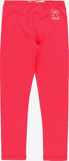 Boboli Leggings in rot / weiß, Produktansicht