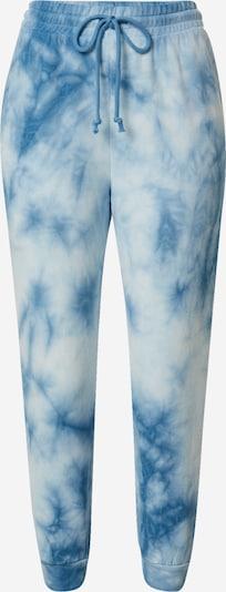 Pantaloni River Island Petite pe albastru / alb, Vizualizare produs