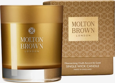 Molton Brown Kerze 'Mesmering Oudh Accord & Gold Single Wick' in gold, Produktansicht