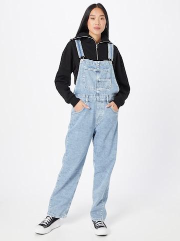 Free People Tuinbroek jeans 'ZIGGY' in Blauw