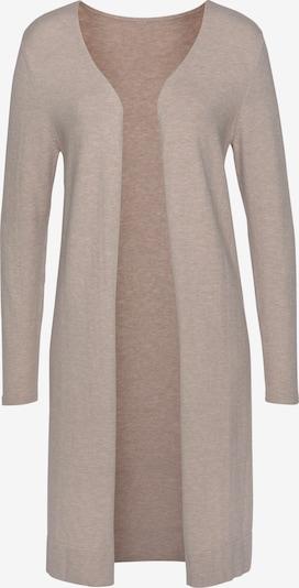 LASCANA Knit Cardigan in mottled beige, Item view